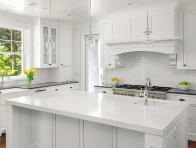 kitchen and bathroom marble countertops