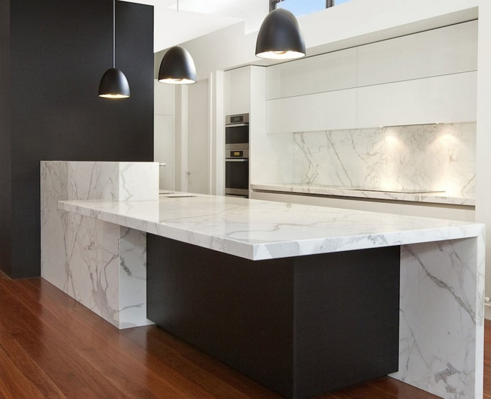 Testimonials. We Purchased A Gorgeous White Marble Countertop ...
